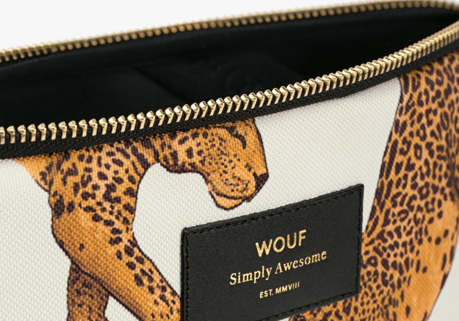 Housse Leopard macbook 13' - WOUF