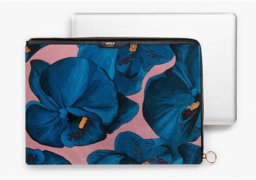 """Housse Macbook 13"""" Orchidée  - WOUF"""