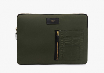 "Housse Macbook 13"" Camo Bomber  - WOUF"