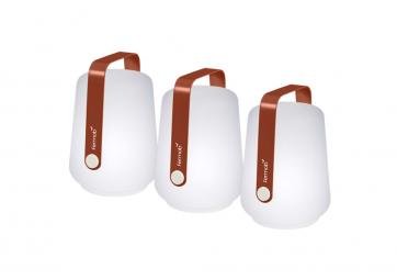 Lot de 3 lampes Balad - FERMOB