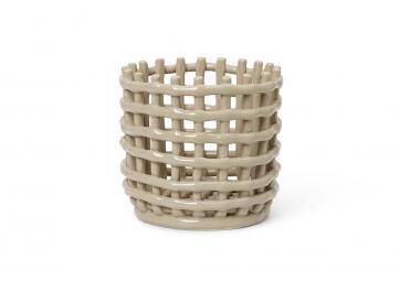 Cache pot / Corbeille en céramique - FERM LIVING