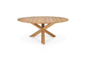 Table d'extérieur Circle en teck - ETHNICRAFT