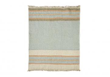 The Belgian Towel Fouta Multi stripe - LIBECO