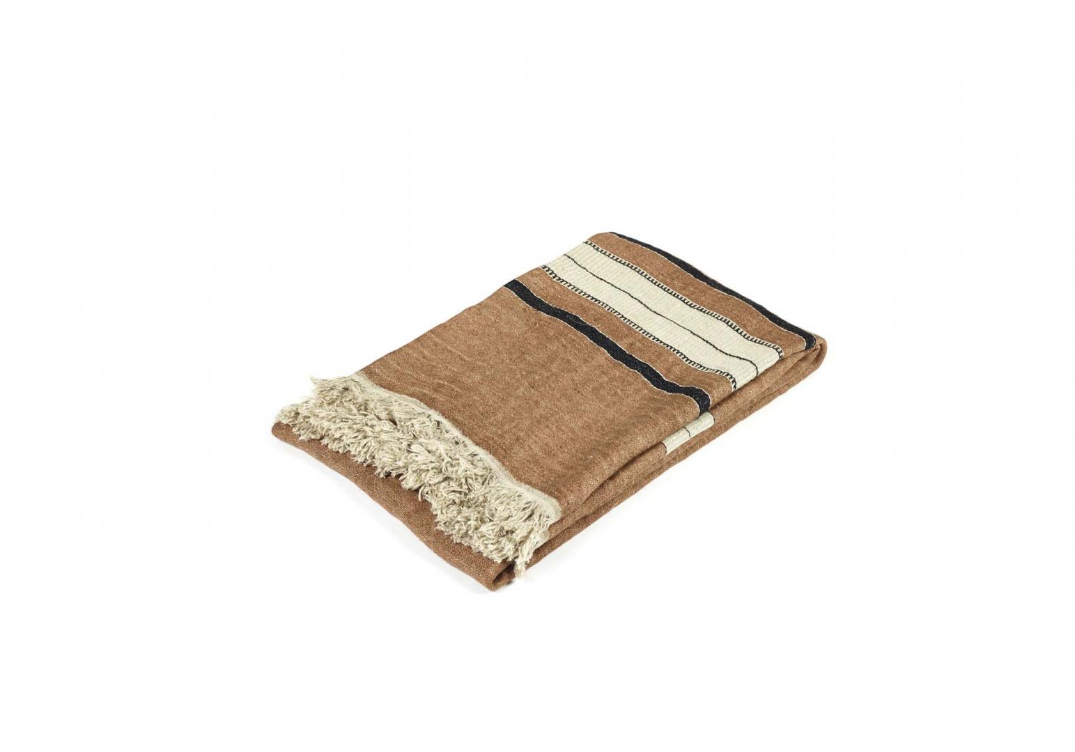 The Belgian Towel Fouta bruges stripe - LIBECO