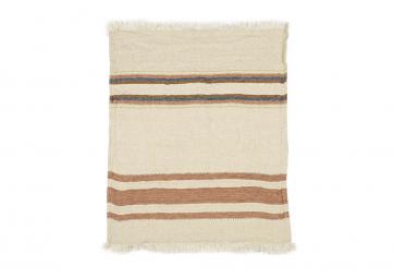The Belgian Towel Fouta Harlan stripe - LIBECO
