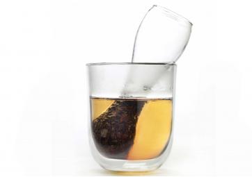 Verre double paroi et filtre à thé - SERAX