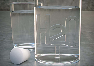 Bouteille H2O - SERAX