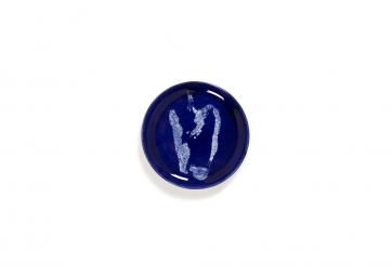 Assiette S lapis lazuli poivron blanc Feast Ottolenghi - SERAX