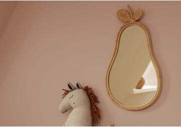 Miroir Poire en rotin - FERM LIVING