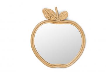 Miroir Pomme en rotin - FERM LIVING