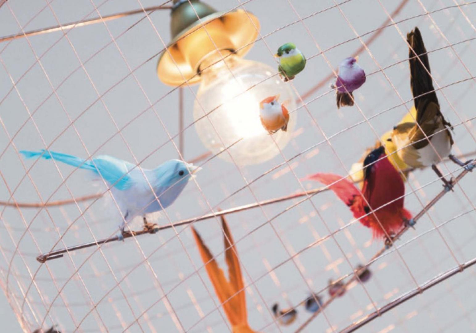 Mini Lampe Volière design - MATHIEU CHALLIERES