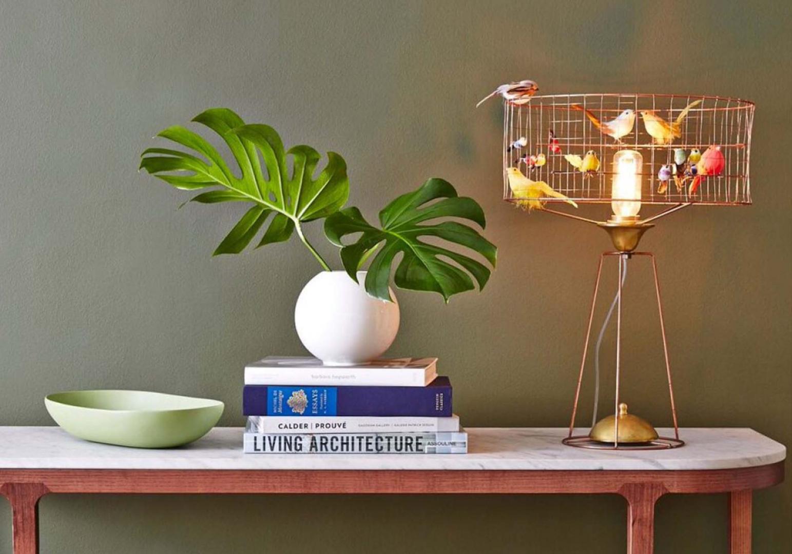 Lampe Volière Tambour design - MATHIEU CHALLIERES
