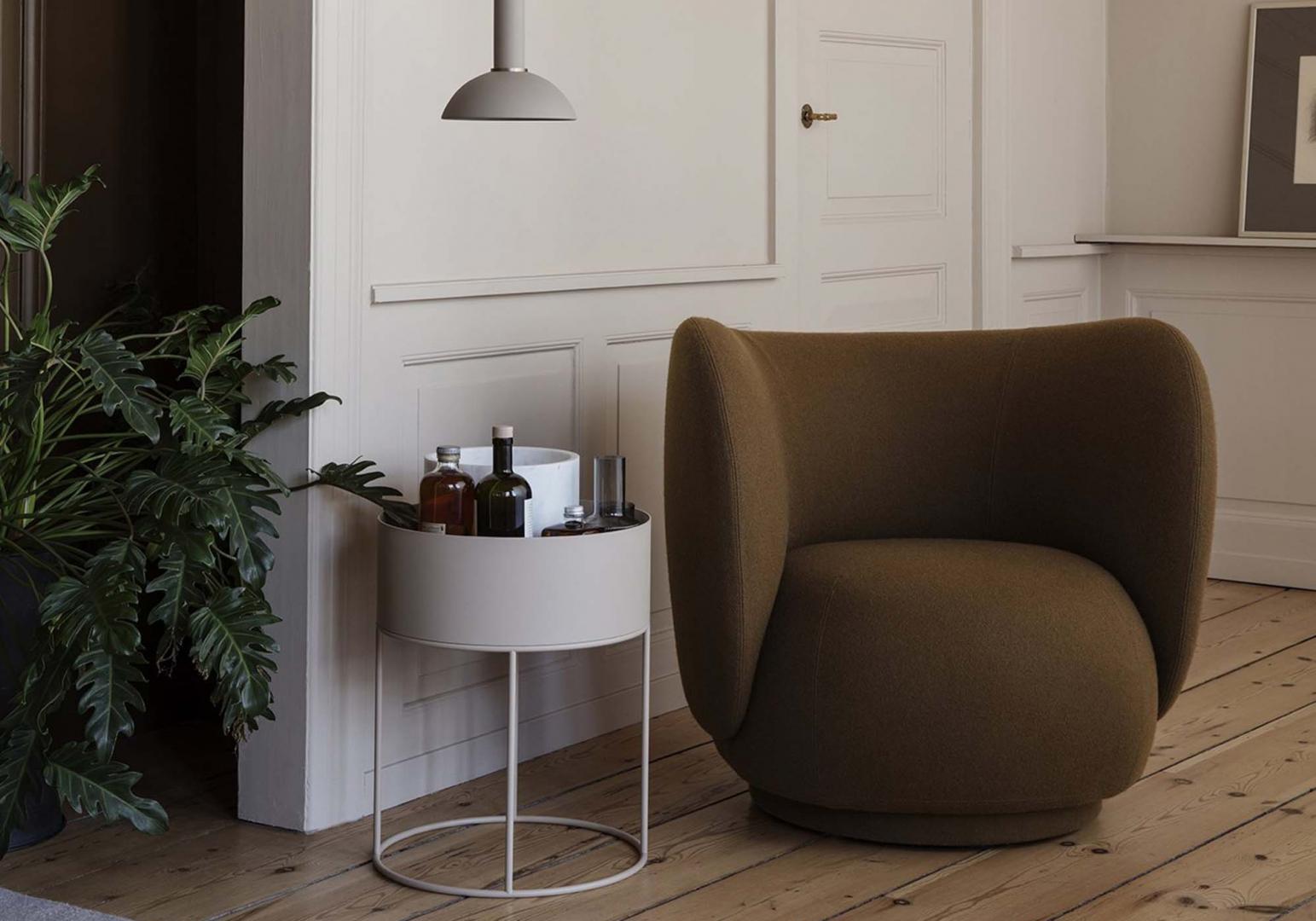 Jardinière Plant box ronde - FERM LIIVNG