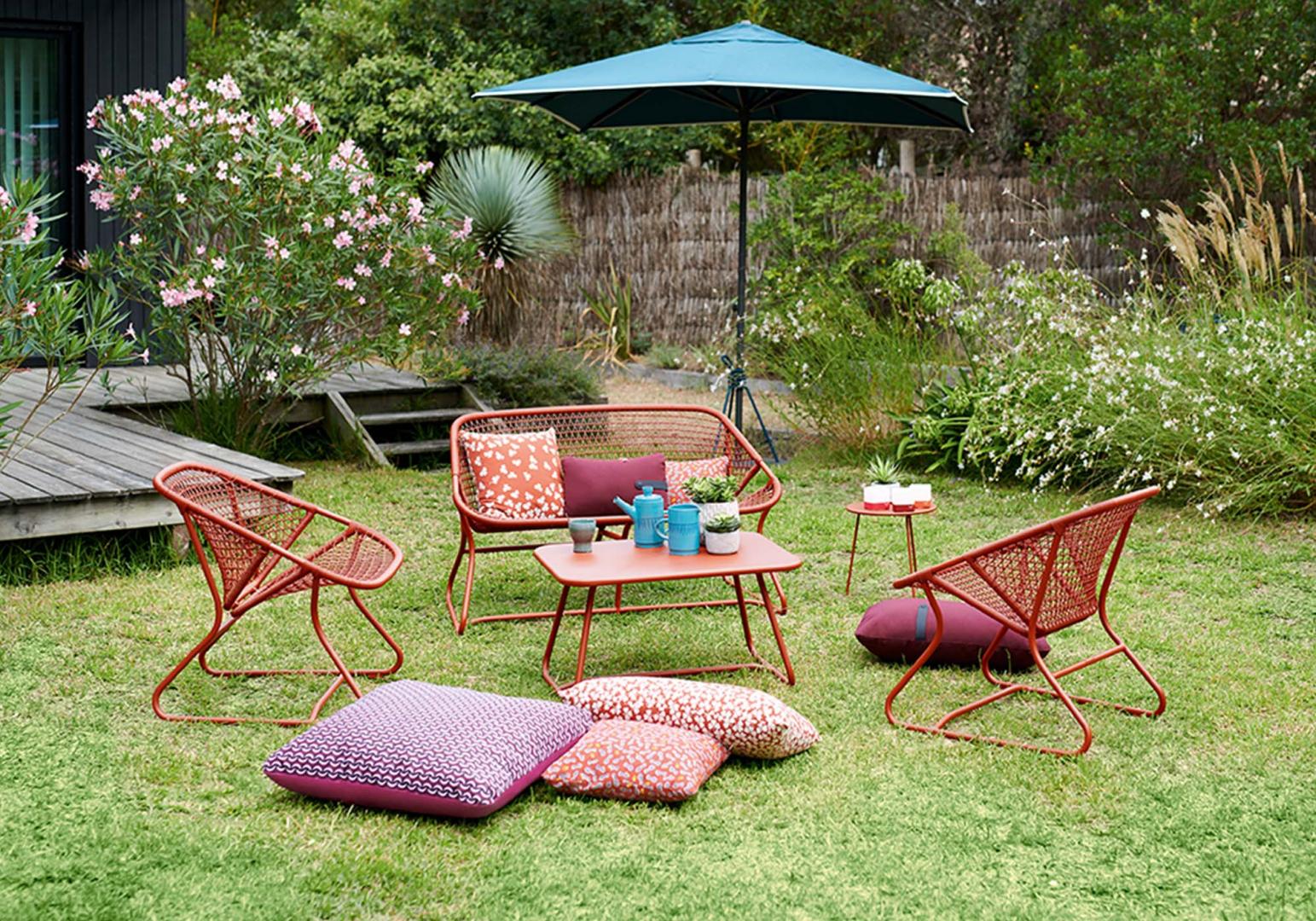 banquette outdoor sixties design fermob