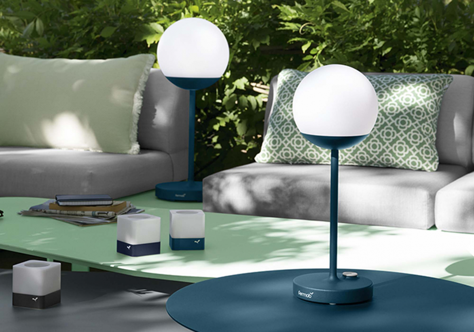 Lampe outdoor design Mooon - FERMOB