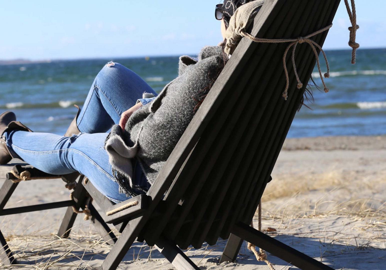 Eco Chair repose pieds bois - ECO FURN