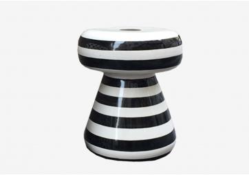 Table basse / Pouf en céramique Inout 44 - GERVASONI