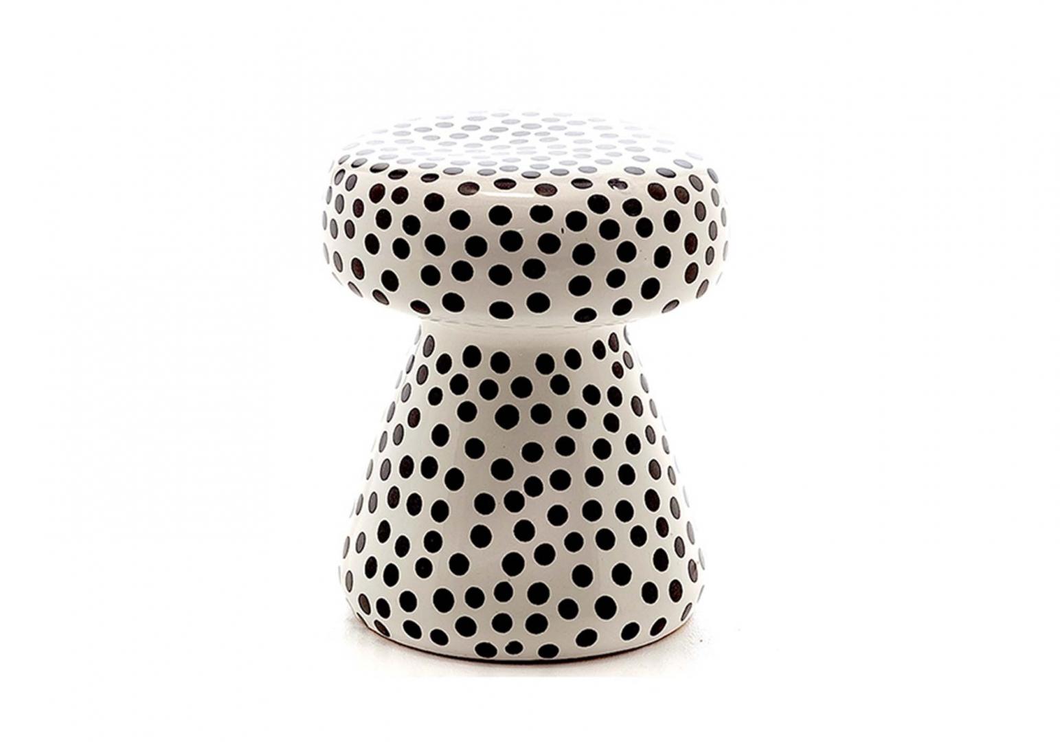 In Out Table basse pouf en céramique