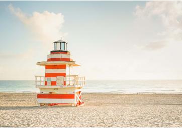 Miami Beach - Cabine phare 30x40 - DAVID&DAVID