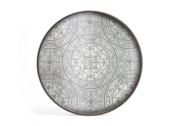 Plateau Morrocan Frost large - ETHNICRAFT ACCESSOIRES