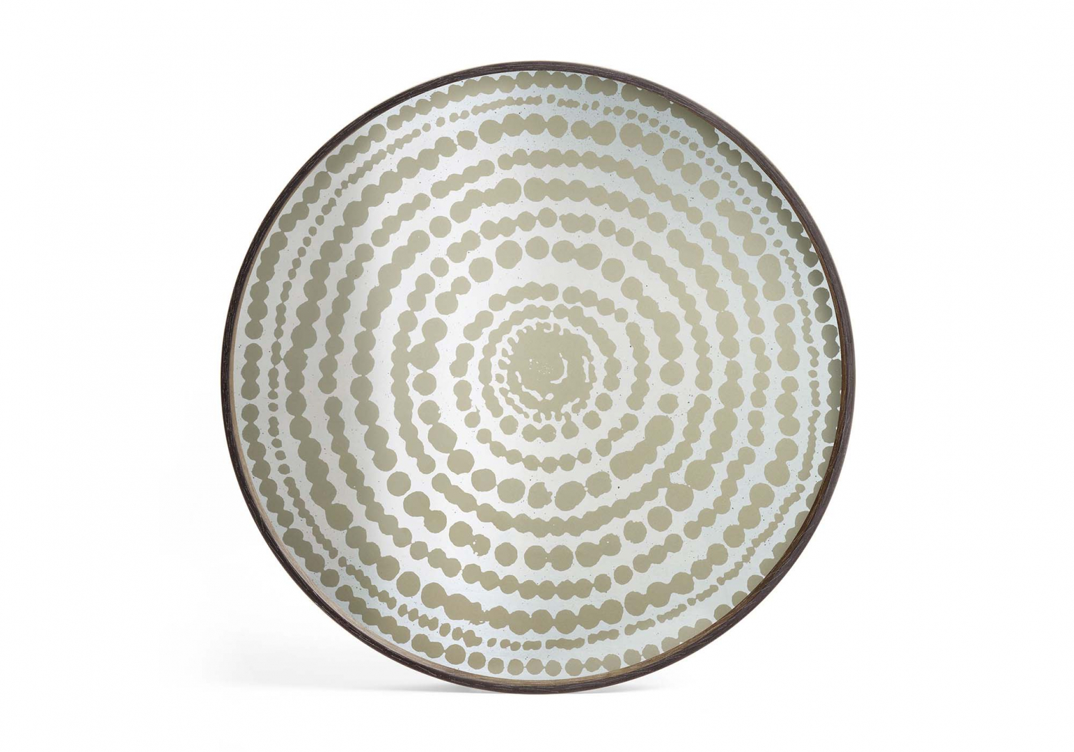 Plateau Gold beads miroir design ethnicraft