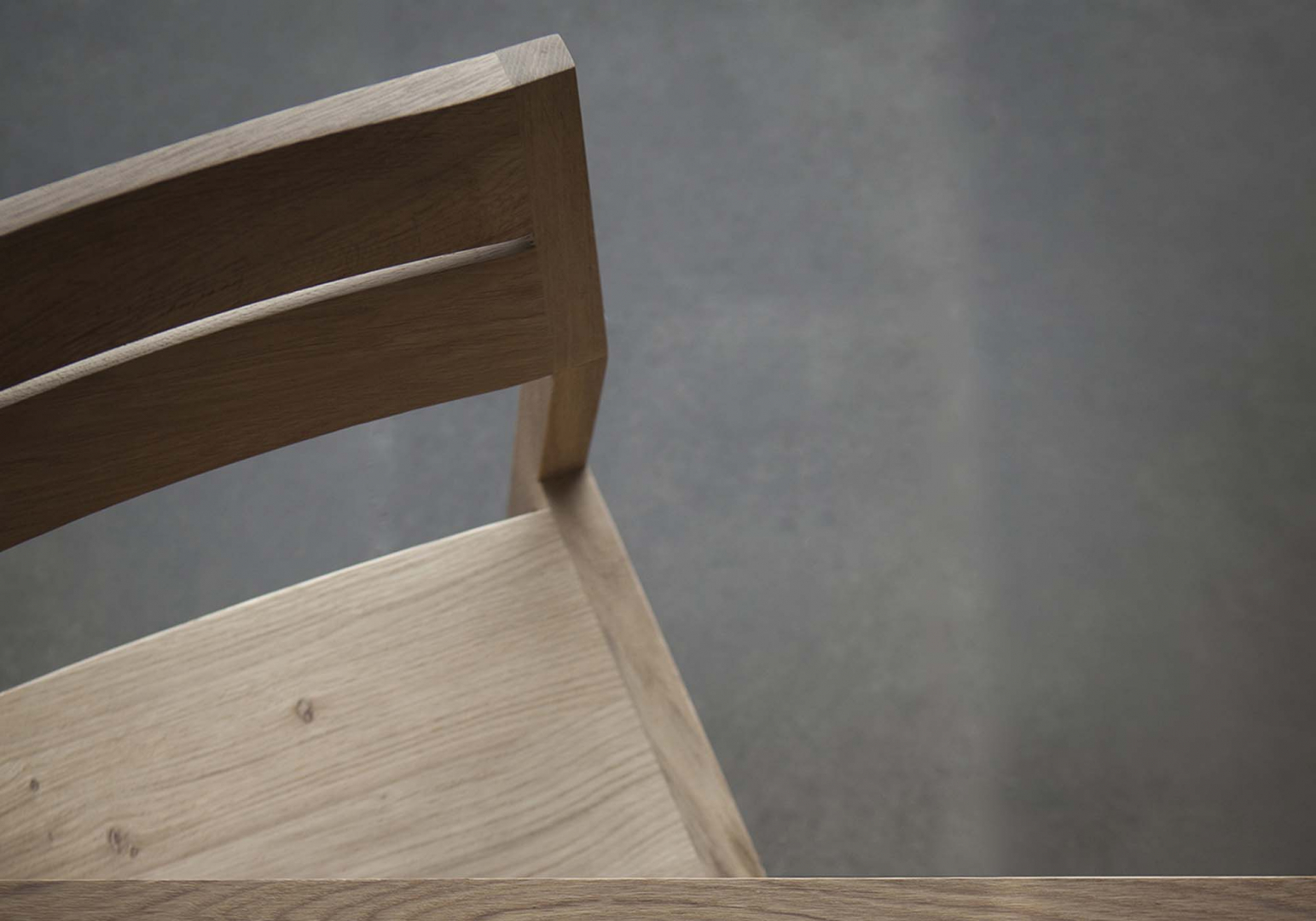 Chaise Ex 1 en chêne design - ETHNICRAFT