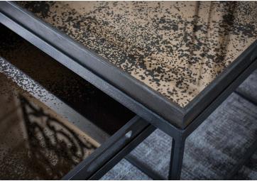 Plateau rectangulaire Bronze Mirror - ETHNICRAFT ACCESSOIRES