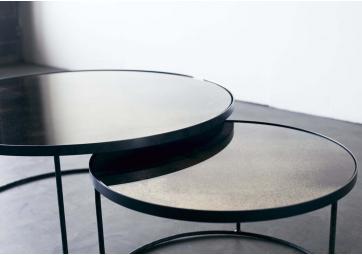 Set de 2 tables basses Nesting Clear - ETHNICRAFT