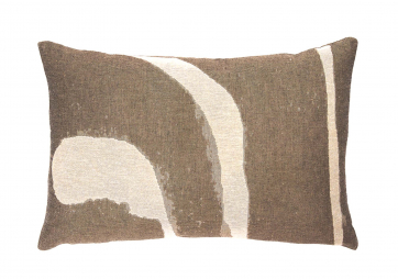 Coussin Abstract Detail - 60 x 40 cm - ETHNICRAFT ACCESSOIRES