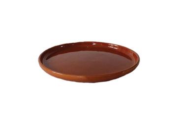 Assiette Taha caramiel Ø26 cm - HOMATA