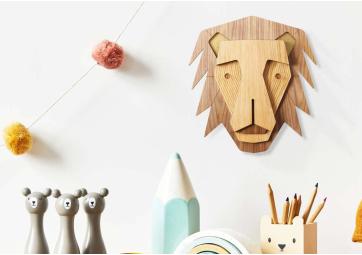 Décoration Murale Mini Lion - UMASQU