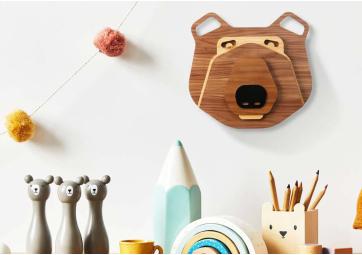 Décoration Murale Mini Bear - UMASQU