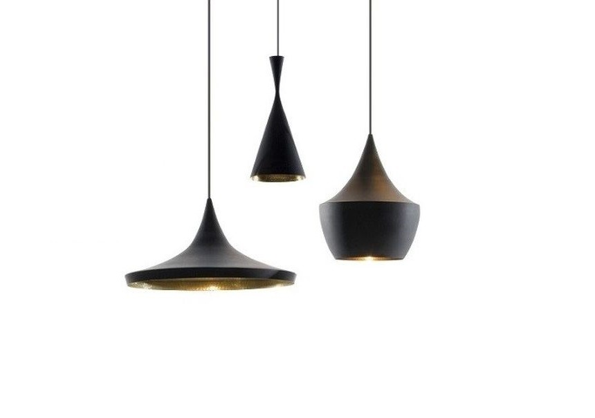 Collection Suspensions Beat Light Noir By Tom Dixon