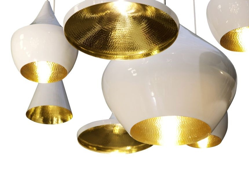 Suspension BEAT Blanc - TOM DIXON