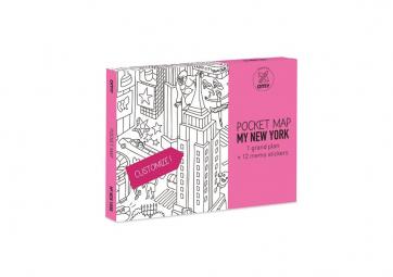 Pocket map New York - OMY