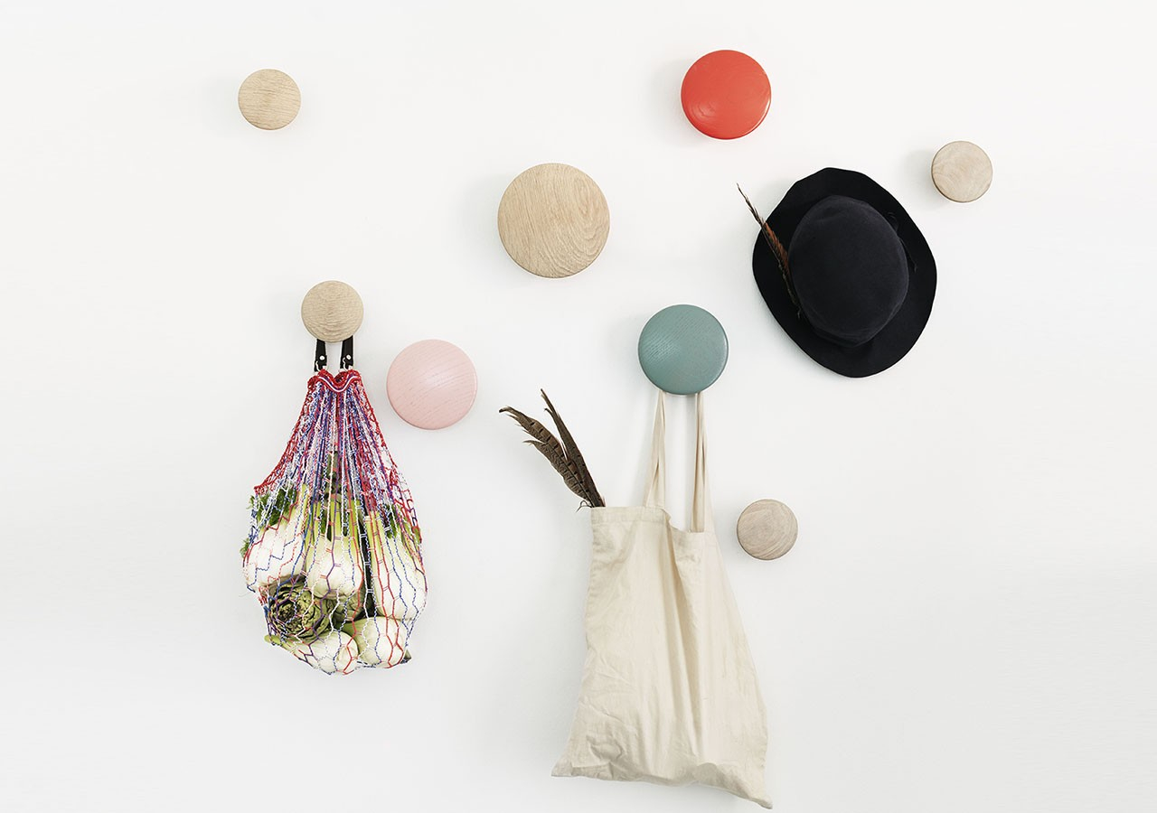 Patère Dots rose - MUUTO