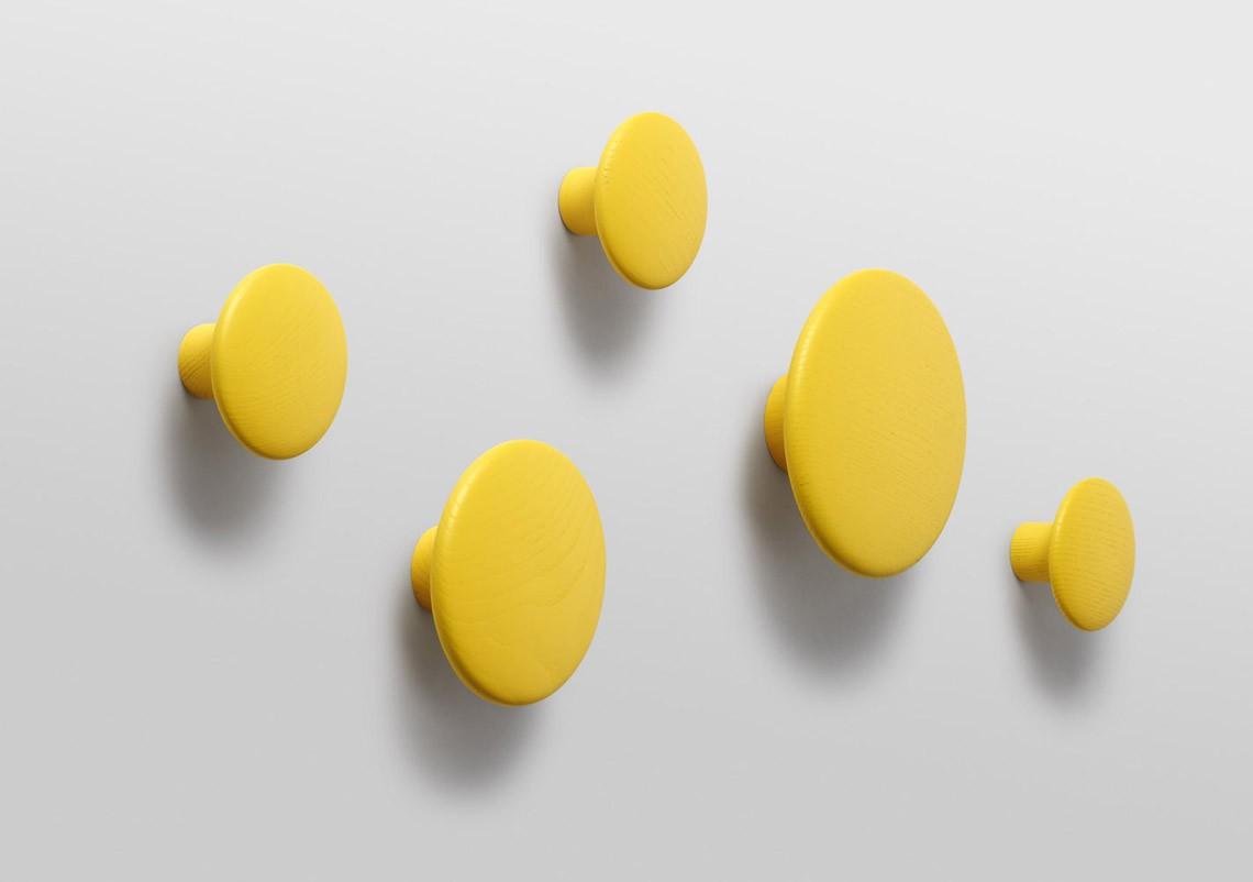 Patère Dots jaune - MUUTO