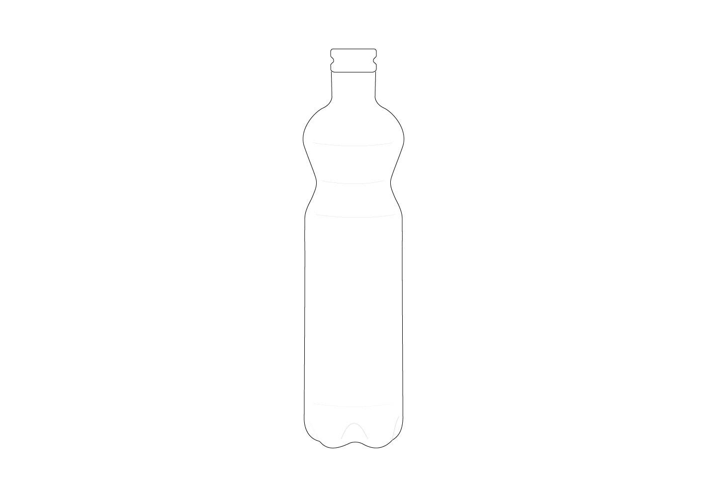 Bouteille en verre (A)  - SERAX