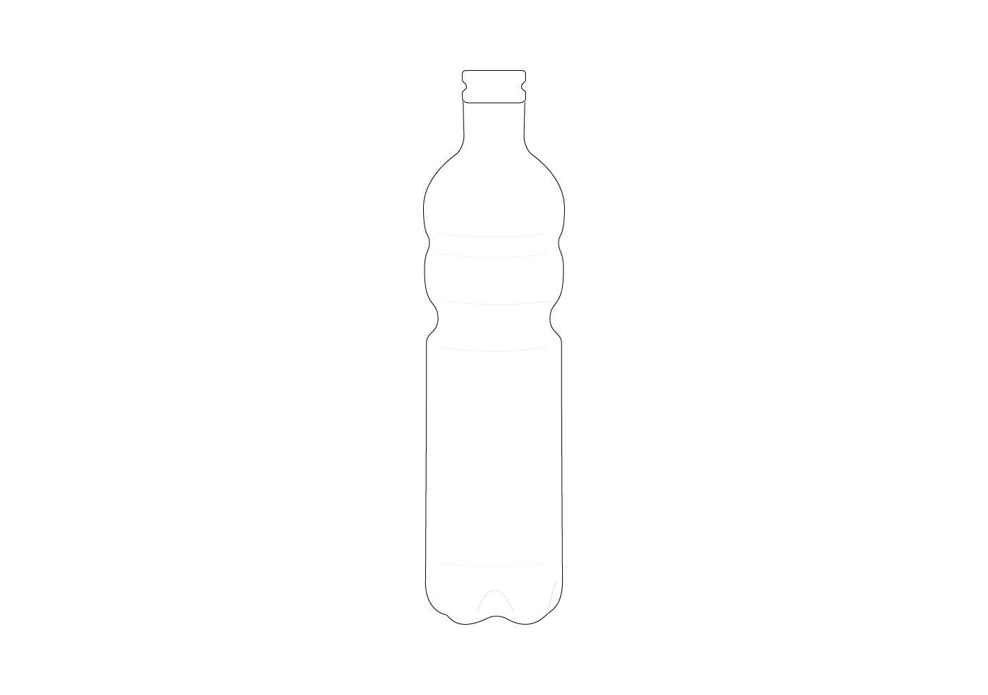 Bouteille en verre (C)  - SERAX