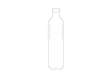 Bouteille en verre (D)  - SERAX