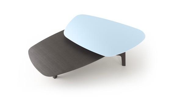 Table basse Lore - 2 plateaux - TREKU