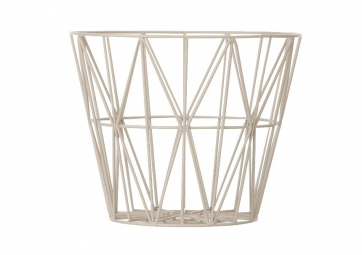 Corbeille WIRE gris - FERM LIVING