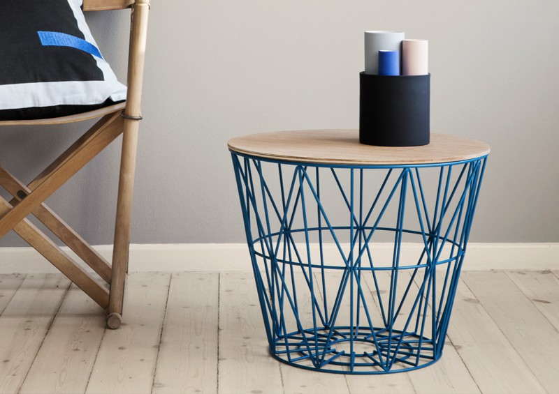 Tablette WIRE chêne - FERM LIVING
