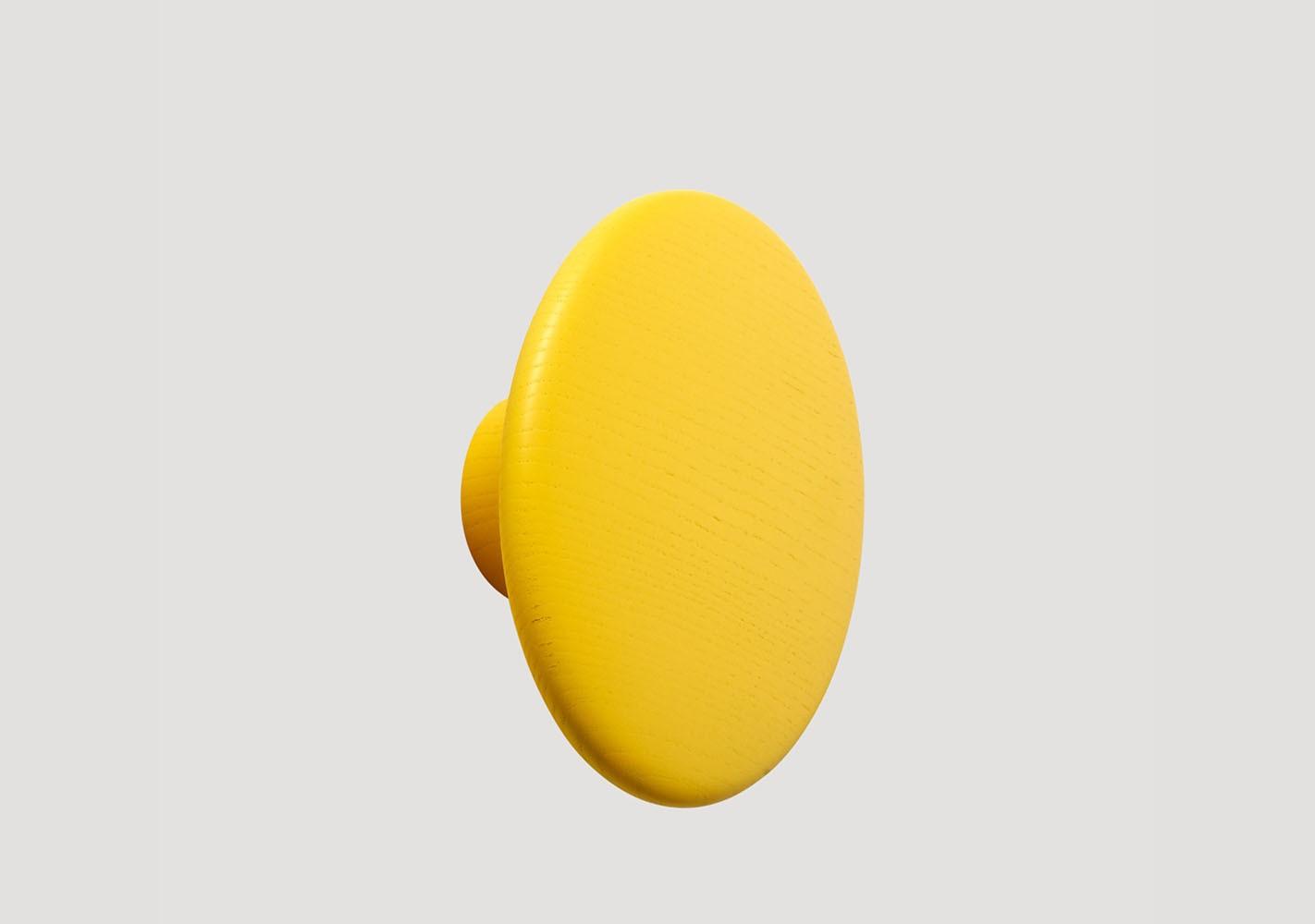 Patère Dots Wood jaune - MUUTO